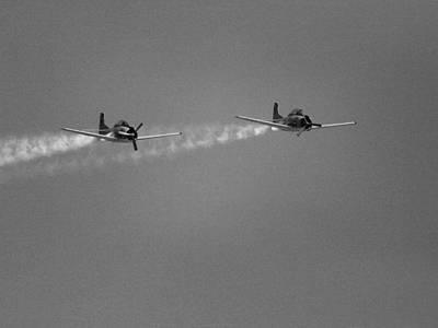 Photograph - Fighter Planes by Charles McKelroy