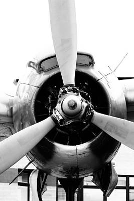 Photograph - Fighter's Propeller by Jackie Farnsworth