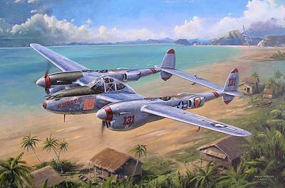 Painting - Fightin' Red Devils by Colin Parker