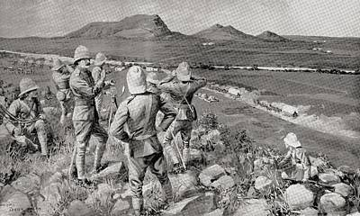 2nd Brigade Drawing - Fighting Mac And The Highland Brigade by Vintage Design Pics