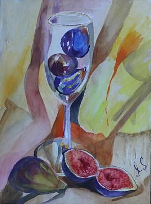 Figs Original by Irina Stroup