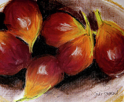 Art Print featuring the painting Figs by Linde Townsend