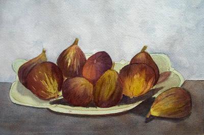 Negative Space - Figs by Nicole Curreri