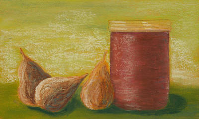Figs With Preserves Art Print
