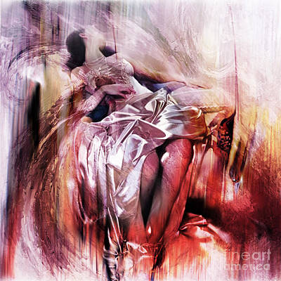 Passionate Painting - Figurative Art 004-b by Gull G