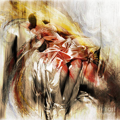 Passionate Painting - Figurative Art 004 by Gull G