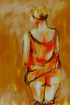 Painting - Figure - 04july2016  by Jim Vance