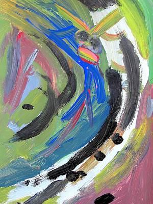Elton John Drawing - Figure 07 Elton John by Jonathan Tal