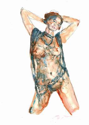 Painting - Figure 20 by Elisha Dasenbrock