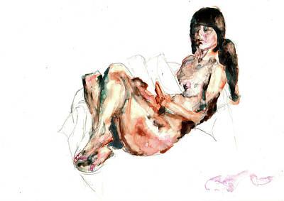 Painting - Figure 21 by Elisha Dasenbrock