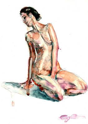 Painting - Figure 22 by Elisha Dasenbrock