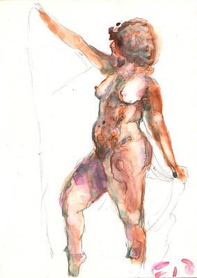 Painting - Figure 27 by Elisha Dasenbrock