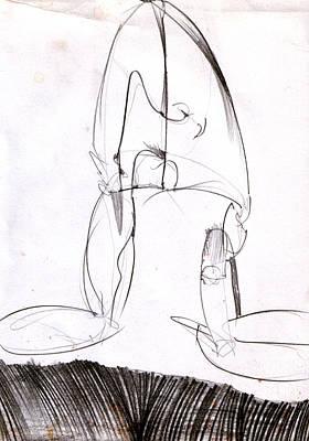 Figure Drawing 8 Original by Michal Rezanka
