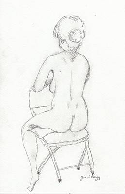 Drawing - Figure Drawing Class 4 by Janel Bragg