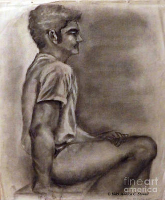Photograph - Figure Drawing Study by Monica C Stovall