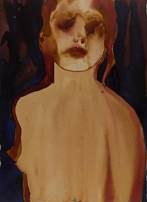 Frontal Nude Painting - Figure by Graham Dean