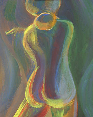 Painting - Figure I by Trina Teele