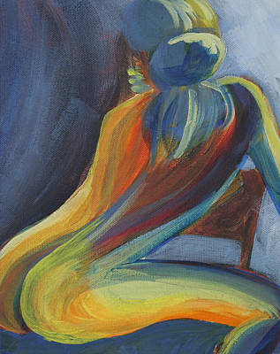 Painting - Figure II by Trina Teele