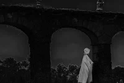 Photograph - Figure In The Night by Nadalyn Larsen