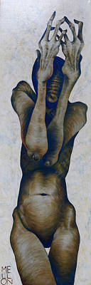 Painting - Figure Nine by Mark M  Mellon