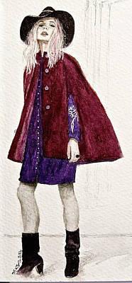 Painting - Figure Sketch.1. by SJV Jeffery-Swailes