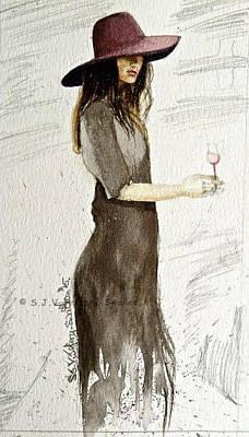 Painting - Figure Sketch.5. by SJV Jeffery-Swailes