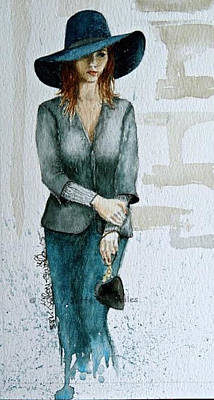 Painting - Figure Sketch.7. by SJV Jeffery-Swailes