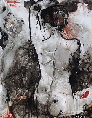 Figure Study 024 Print by Donna Frost