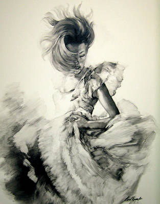 Contempory Painting - Figure Study 11 by Stuart Gilbert