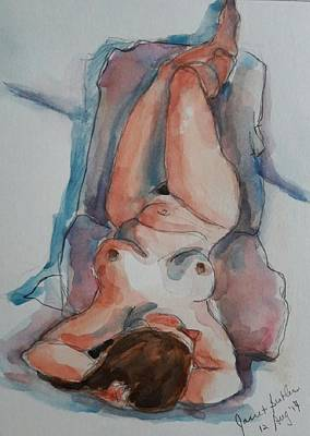 Painting - Figure Study  by Janet Butler