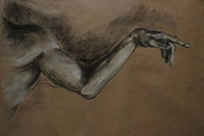 Kathleen Drawing - Figure Study by Kathleen OHagan