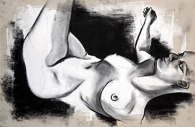 Drawing - Figure Study by Sheridan Furrer