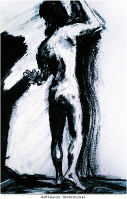 Figure Study Three Art Print by Scott Wallin