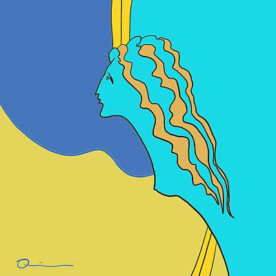 Digital Art - Figurehead by Jeff Quiros