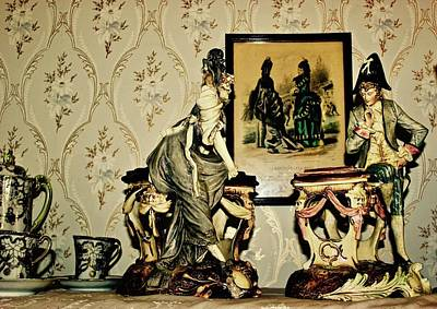 Photograph - Figurines At Emily Carr's House by Brian Sereda