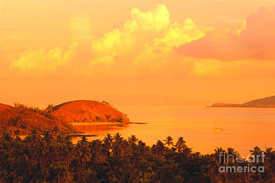 Blend Photograph - Fiji Mana Island by Dave Fleetham - Printscapes