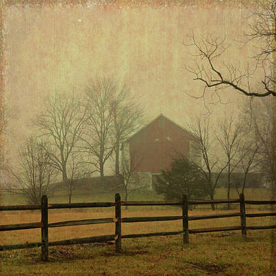 Mixed Media - Filbert's Friendly Farm by Trish Tritz