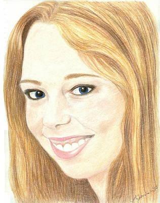 Drawing - Filia by Jennie  Richards