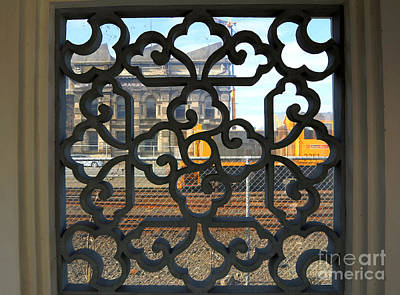 Photograph - Filigree Window by Nareeta Martin