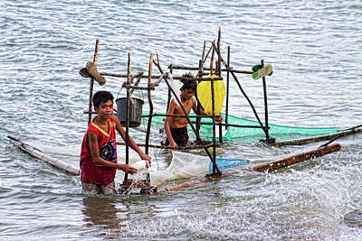 Photograph - Filipino Fishing by James BO Insogna