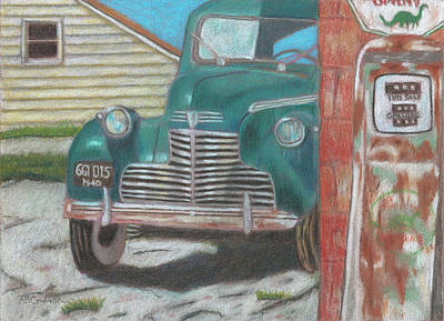 Painting - Fill 'er Up by Arlene Crafton
