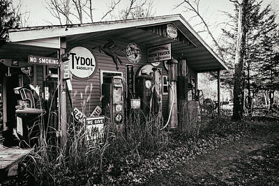 Photograph - Fill Er Up by CJ Schmit