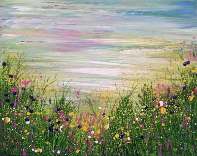 Painting - Fill Our Lives With Comfort And Our Hearts With Gladness by T Fry-Green