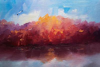 Painting - Fill Us With Light Landscape by Michele Carter
