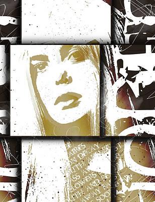 Young Digital Art - Fille Dans Oseille by Gary Bodnar