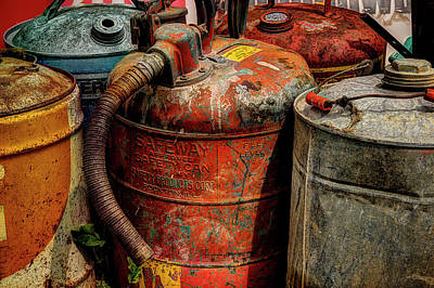 Photograph - Fill'er Up by Mike Eingle