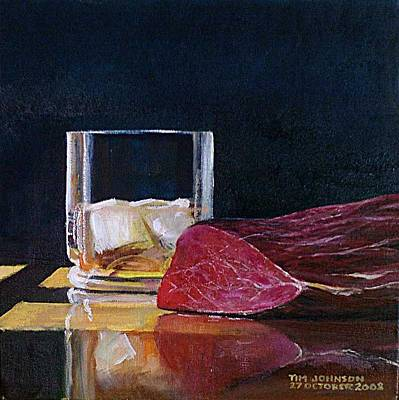 Scotch Painting - Fillet by Tim Johnson