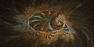 Digital Art - Filligree Sky by Doug Morgan