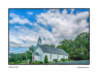 Photograph - Fillmore Umc by R Thomas Berner