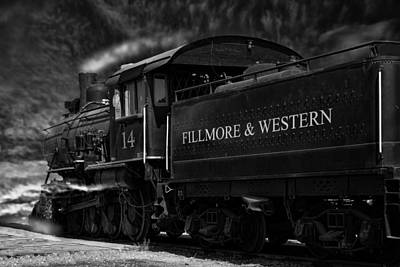 Photograph - Fillmore-western Steam Train by William Havle